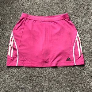 Adidas Hot Pink Clima Cool Athletic Skirt